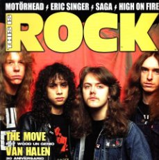 Revistas de música: REVISTA THIS IS ROCK NUMERO 45 METALLICA. Lote 228113400