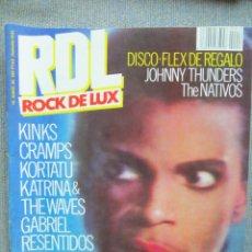 Revistas de música: ROCK DE LUX:NUM.19-PRINCE-KORTATU-ULTIMO DE LA FILA-THE CRAMPS. Lote 228176770