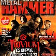 Revistas de música: REVISTA METAL HAMMER NUMERO 231 TRIVIUM, CON POSTER DE IRON MAIDEN. Lote 228660755