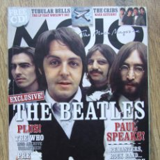 Revistas de música: MOJO 191 BEATLES BUNNY WAILER MIKE OLDFIELD THE WHOO MODS PREFAB SPROUT. Lote 201762001