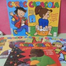 Revistas de música: 6 REVISTAS CARACOLA. FELIZ NAVIDAD,BUEN VIAJE, A CAROLINA TREMOLINA LE GUSTA LA ESPUMA,ETC..... Lote 229521740