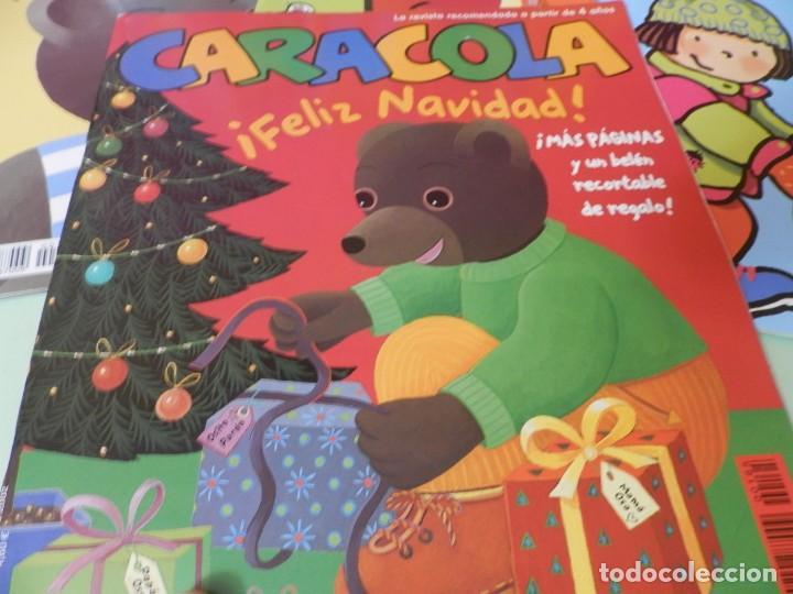 Revistas de música: 6 REVISTAS CARACOLA. FELIZ NAVIDAD,BUEN VIAJE, A CAROLINA TREMOLINA LE GUSTA LA ESPUMA,ETC.... - Foto 3 - 229521740