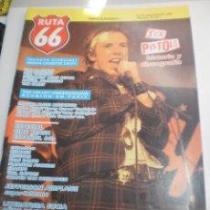 Riviste di musica: RUTA 66 Nº 53 SEX PISTOLS (SEMINUEVA). Lote 229685915