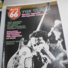 Riviste di musica: RUTA 66 Nº 49 THE CLASH (SEMINUEVA). Lote 229686795