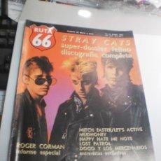 Riviste di musica: RUTA 66 Nº 41 STRAY CATS (SEMINUEVA). Lote 229722485