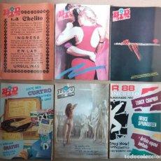 Revistas de música: BOLETÍN INFORMATIVO DISCOPLAY - BID AÑO 5 (1988) - LOTE DE 6 NÚMEROS 48, 49, 51, 53, 54, 56 - SUELTO. Lote 230008075