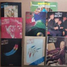 Revistas de música: BOLETÍN INFORMATIVO DISCOPLAY - BID AÑO 6 (1989) - LOTE 5 NÚMEROS 60, 61, 66, 67 + ESPECIAL CHARLY. Lote 230008585