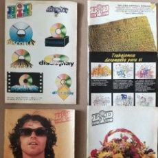 Revistas de música: BOLETÍN INFORMATIVO DISCOPLAY - BID AÑO 13(1996) - LOTE DE 5 NÚMEROS 142, 145, 146, 148, 150. Lote 230015210