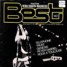 Revistas de música: REVISTA BEST (FRANCÉS) 1980, NUMERO 143 1980 LE CLASH. Lote 230457895
