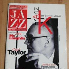 Revistas de música: CUADERNOS DE JAZZ Nº 52 (MAYO / JUNIO 1999) CECIL TAYLOR / CASSANDRA WILSON / JOHN MCLAUGHLIN. Lote 230892145
