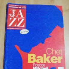 Revistas de música: CUADERNOS DE JAZZ Nº 56 (ENERO / FEBRERO 2000) CHET BAKER / ROSCOE MITCHELL / NGUYÊN LÊ. Lote 230897520