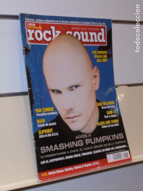 REVISTA ROCK SOUND Nº 47 SMASHING PUMPKINS (Música - Revistas, Manuales y Cursos)