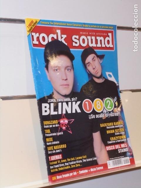 REVISTA ROCK SOUND Nº 41 BLINK 182 (Música - Revistas, Manuales y Cursos)