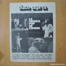 Revistas de música: DISCO EXPRES - LA MUSICA POP DE ESPAÑA - REVISTA. Lote 233286150