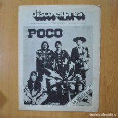 Revistas de música: DISCO EXPRES - POCO - REVISTA. Lote 233286520