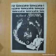 Revistas de música: DISCO EXPRES - LAS FLORES DE SANTANA - REVISTA. Lote 233286620