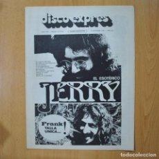 Revistas de música: DISCO EXPRES - EL ESOTERICO JERRY - REVISTA. Lote 233286695