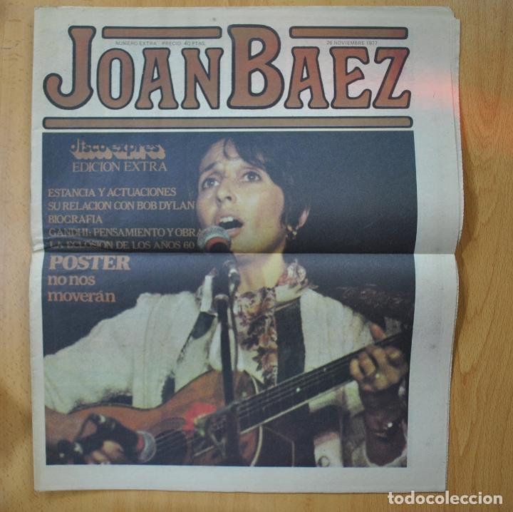 DISCO EXPRES - JOAN BAEZ - REVISTA (Música - Revistas, Manuales y Cursos)