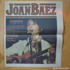 Revistas de música: DISCO EXPRES - JOAN BAEZ - REVISTA. Lote 233286820