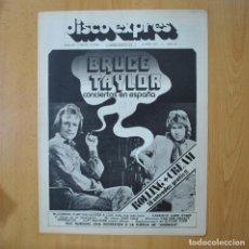 Revistas de música: DISCO EXPRES - BRUCE TAYLOR - REVISTA. Lote 233286875