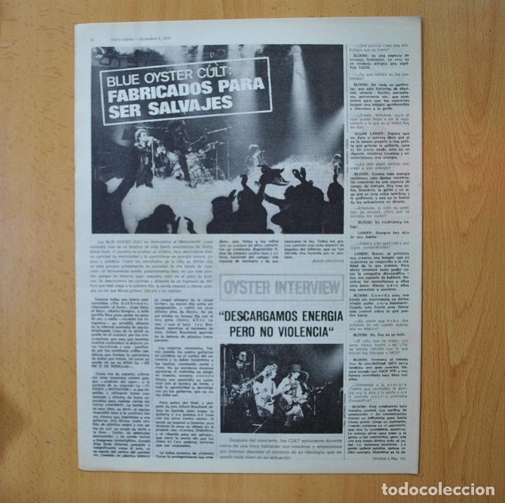 Revistas de música: DISCO EXPRES - JEFFERSON STARSHIP / IAN ANDERSON HABLA SOBRE JETHRO TULL - REVISTA - Foto 2 - 233287525