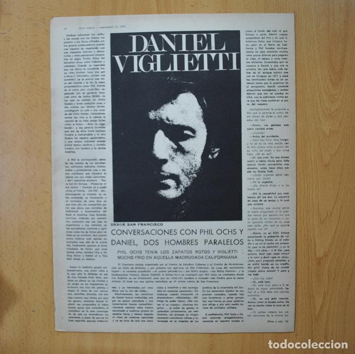 Revistas de música: DISCO EXPRES - JOHNNY RIVERS / JOHNNY & EDGAR WINTER EL ROCK ALBINO - REVISTA - Foto 2 - 233287570