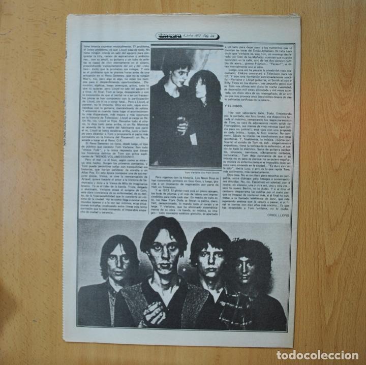 Revistas de música: DISCO EXPRES - TELEVISION / ESPECIAL VIAJES / PAUL DESMOND - REVISTA - Foto 2 - 233287790