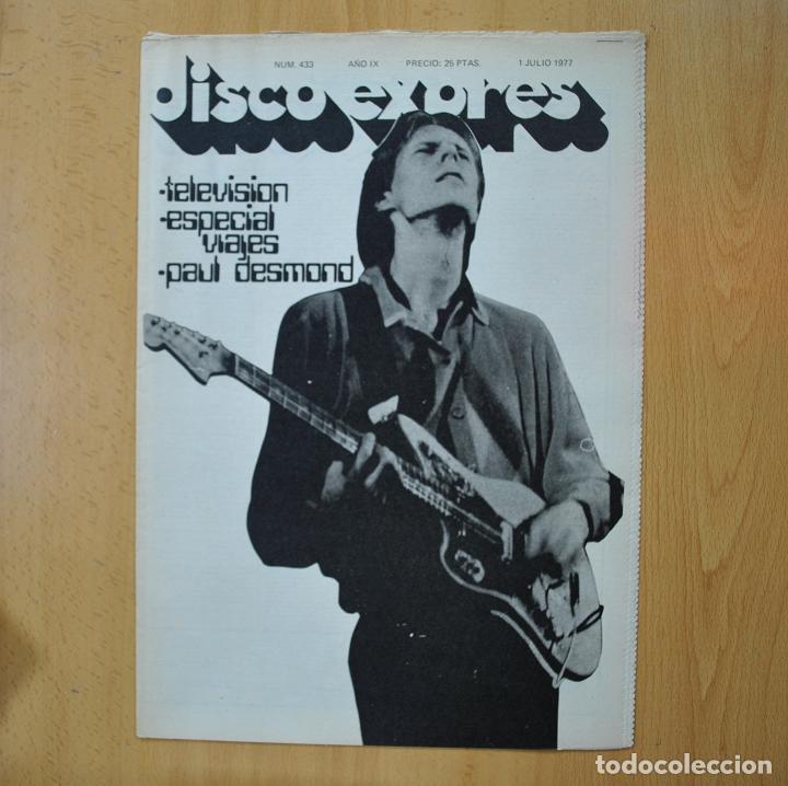 DISCO EXPRES - TELEVISION / ESPECIAL VIAJES / PAUL DESMOND - REVISTA (Música - Revistas, Manuales y Cursos)