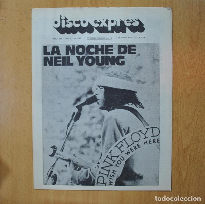 DISCO EXPRES - LA NOCHE DE NEIL YOUNG - REVISTA (Música - Revistas, Manuales y Cursos)