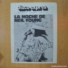 Revistas de música: DISCO EXPRES - LA NOCHE DE NEIL YOUNG - REVISTA. Lote 233287860