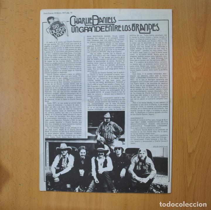 Revistas de música: DISCO EXPRES - VUELVEN LOS GENES DE PETER GABRIEL - REVISTA - Foto 2 - 233287910