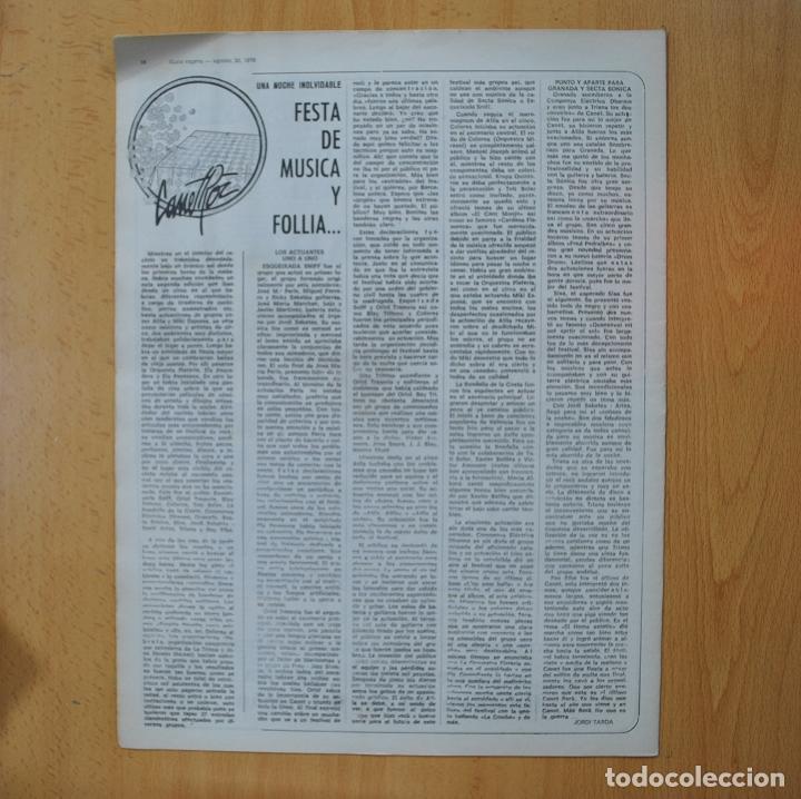Revistas de música: DISCO EXPRES - BUFFY SAINTE MARIE - REVISTA - Foto 2 - 233287970