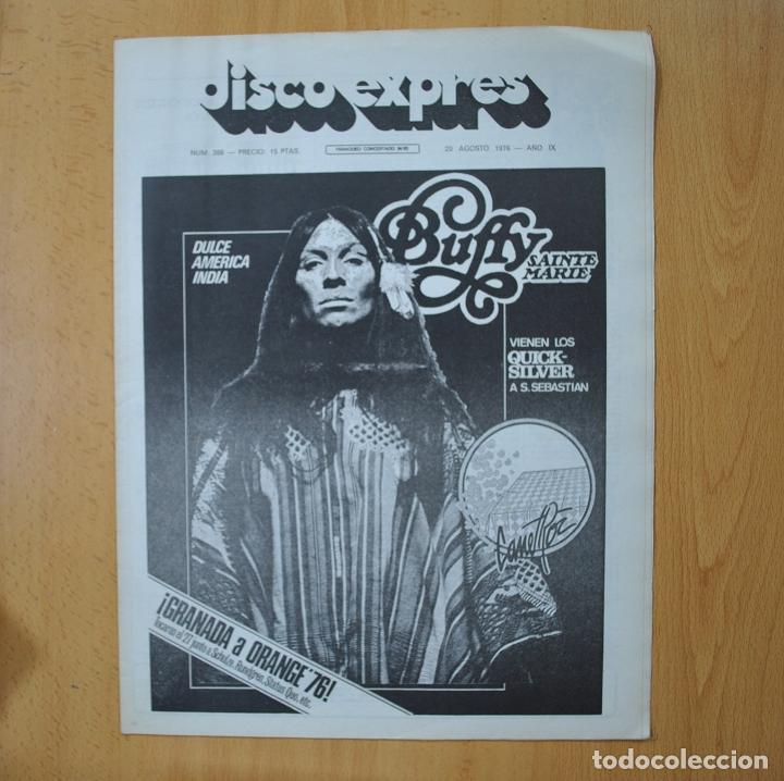 DISCO EXPRES - BUFFY SAINTE MARIE - REVISTA (Música - Revistas, Manuales y Cursos)