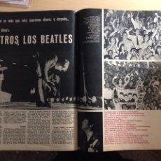 Revistas de música: BEATLES - GACETA ILUSTRADA NUM.457 - AVA GARDNER. Lote 233747115