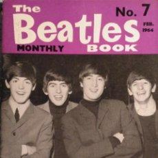Revistas de música: REVISTA ''THE BEATLES MONTHLY BOOK'' - Nº 7 (FEBRERO DE 1964). Lote 38801402