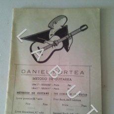 Riviste di musica: MÉTODO DE GUITARRA DANIEL FORTEA CURSO PRIMERO FAM7. Lote 234725775