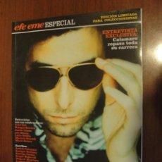 Revistas de música: ANDRES CALAMARO / ESPECIAL EFE EME ENTREVISTA 2006 - SIN USAR - STOCK DE TIENDA. Lote 234749255