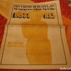 Riviste di musica: REVISTA DISCO EXPRES Nº 481 BLONDIE KAKA DE LUXE RAMONCÍN PAPPO´S BLUES LEÑO ÑU REGGAE 1978. Lote 235091975