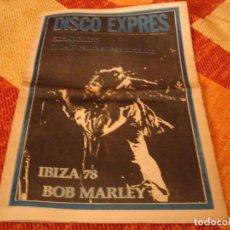 Riviste di musica: REVISTA DISCO EXPRES Nº 480 BOB MARLEY EN IBIZA STRANGLERS 999 IMAN 1978. Lote 235099155