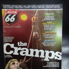 Riviste di musica: RUTA 66 Nº 296 THE CRAMPS, BAND OF HORSES, TERRY SOUTHERN, SMALL FACES, HOWLIN' RAIN, CALEXICO. Lote 235113670