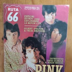 Riviste di musica: RUTA 66 Nº 123 DAVID GILMOUR Y ROGER WATERS, PINK FLOYD, 091, JOHNNY CASH, JESUS & MARY CHAIN. Lote 235119845