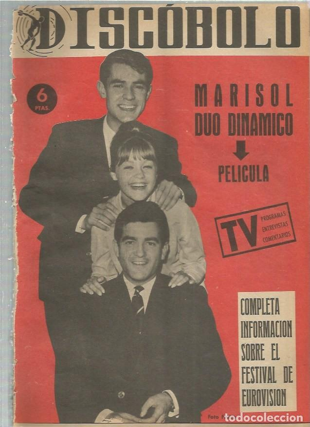 DISCOBOLO (PROCEDE DE ENCUADERNACION ) 48 MARISOL DUO DINAMICO (Música - Revistas, Manuales y Cursos)