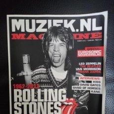 Revistas de música: MUZIEK.NL Nº 5 - ROLLING STONES, LED ZEPPELIN, THE BEATLES, VAN MORRISON, FRANK ZAPPA BAND OF HORSES. Lote 235693315