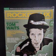 Revistas de música: ROCKDELUX RDL ROCK DE LUX Nº 264 TOM WAITS, CRYSTAL CASTLES, SPIRITUALIZED, THE DOORS, BON IVER. Lote 235699100