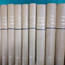 Revistas de música: REVISTA MUSICAL CATALANA. 2ª EPOCA. DESDE EL AÑO 1984 HASTA 1995 (FALTA 1992) 10 VOLUMENES.. Lote 236084710