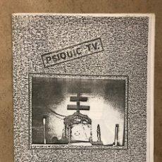 Revistas de música: S.T.I. SINDICATO DE TRABAJOS IMAGINARIOS (ZARAGOZA 1984). FANZINE DEDICADO A PSYQUIC TV.. Lote 236198925