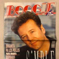 Revistas de música: BOOGIE N° 14 (1989). HÉROES DEL SILENCIO, DINAMITA PA LOS POLLOS, DESPERADOS, SIMPLE MINDS,. Lote 236224620