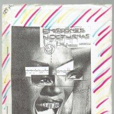 Revistas de música: EMISSIONES NOCTURNAS Nº 2 FANZINE JAVEA ALICANTE @ EXTREMA CORDIALIDAD HOMICIDA MAR OTRA VEZ ...... Lote 236342300