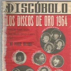 Riviste di musica: DISCOBOLO 67 (PROCEDE DE ENCUADERNACION Y PARTE SUPERIOR ALGO GUILLOTINADO). Lote 236517185