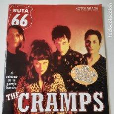 Revistas de música: RUTA 66 - Nº 132 - THE CRAMPS - CASI NUEVA.. Lote 237481055